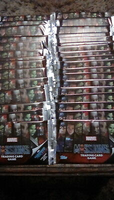 Marvel Missions Trading Cards - 34 Unopened Packs Containg 8 Cards Each