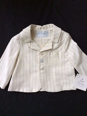 BNWT Boys Christening / Occasional Suit Jacket By Little Darlings (2 Years)