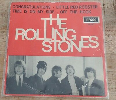The Rolling Stones - Congratulations EP - HOLLAND DECCA 457 050