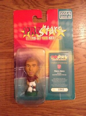 Corinthian Prostars Series 33 Thierry Henry Arsenal Blister Pro1428