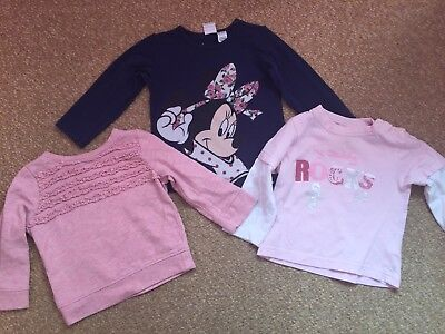 Girls Tops - Age 6-9 Months