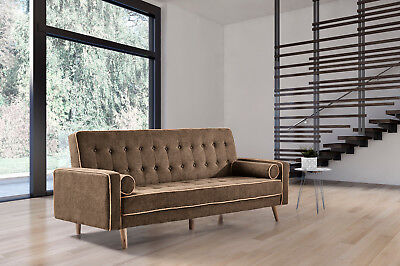 Sofa cama Oslo marron