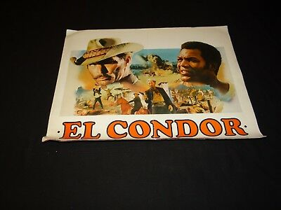 EL CONDOR lee van cleef jim brown scenario dossier presse cinema western 1969