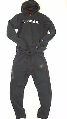 Boys 13 15 Designer Nike Air Max Hoodie & Nike Tracksuit Bottoms See Other Items