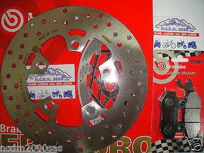 Brake Disc Brembo + Pads Front Kymco 50 Dink 08 > 771