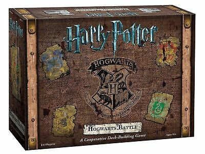 USAOPOLY DB010-400 Harry Potter Hogwarts Battle A Cooperative Deck Building G...
