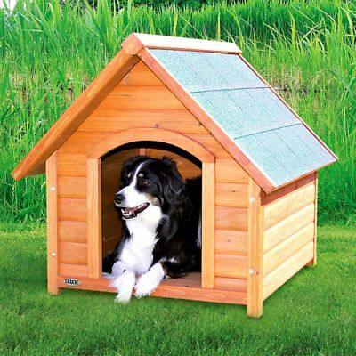 Wooden Dog Cat Pet Kennel Small Medium Large XL Warm House Weather Proof Shelter