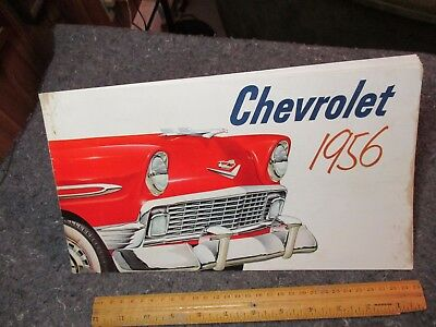 Vintage Chevrolet Brochure/1956/chevrolet 1956/colorful Chevy Models/promo Bookl