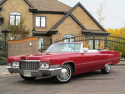 1970 Cadillac DeVille NO RESERVE NO RESERVE 1970 CADILLAC DEVILLE CONVERTIBLE RESTORED LOW MILES CADDY RAGTOP WOW
