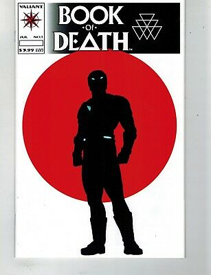 Book Of Death #1 1:20 Variant Robert Vendtti Gill Valiant Comic Mj