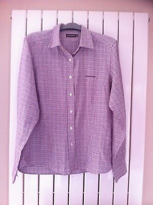 Craghoppers Womens Pink & Purple Checked Shirt size 14