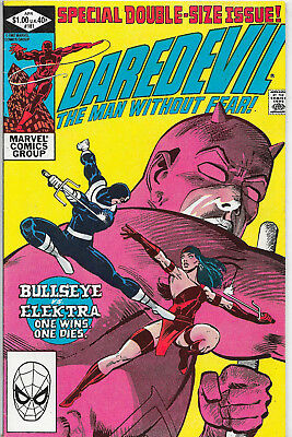 Daredevil #181 Marvel Comics Death Of Elektra Frank Miller VF