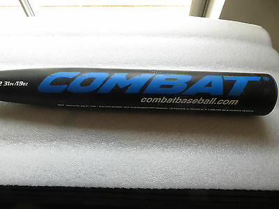 COMBAT Reloaded Baseball Bat 31IN, 19OZ, 2 1/4 barrel