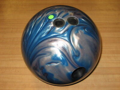 Brunswick Limited Edition Blue Flame Inferno Bowling Ball 15Lb. Lh - 5 Games!