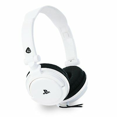 4Gamers Pro4 10 Stereo Gaming Headset White For Ps4 And Ps Vita Brand New In Box