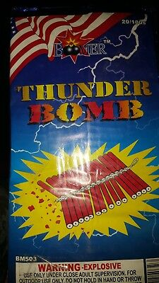 thunder bomb firecracker brick lables