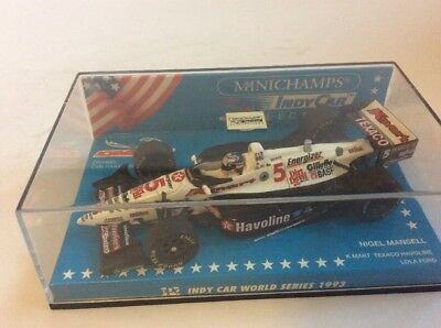 Nigel Mansell 1993 Indy Car Minichamps 1/43 Scale Diecast