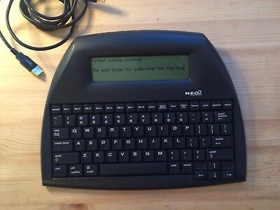 AlphaSmart Neo 2 w/ USB cable - In perfect working condition