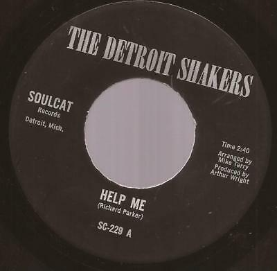 """The Detroit Shakers """"Help Me / People Like To Talk"""" Northern / Modern  Soul"""