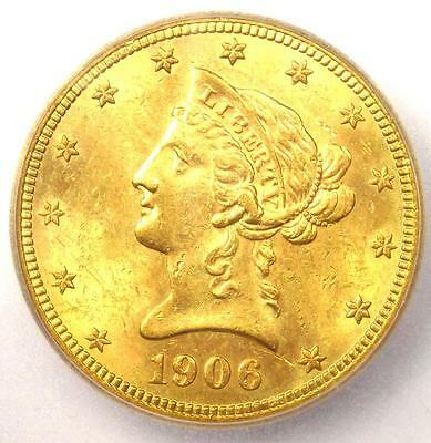1906-S Liberty Gold Eagle ($10 Coin) - ICG MS64 - Rare in MS64 - $8,740 Value!