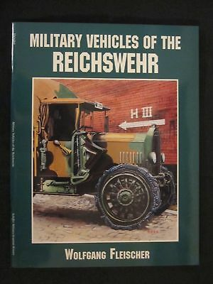 Military Vehicles of the Reichswehr by Schiffer 48 pgs over 100 b/w photographs