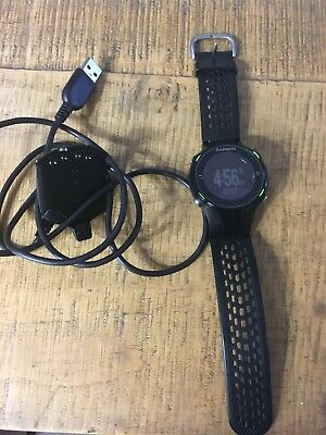 Pre-Owned Men's Black Garmin S4 s4 Golf Watch with Charging Cord