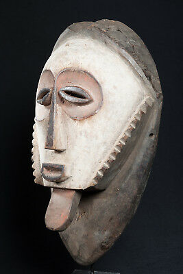 Bembe Face Mask, D.R. Congo, Zambia, African Tribal Mask