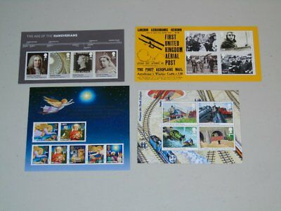 Stamp Pickers Great Britain 2011 Mint Souvenir Sheets x 4 MNH $50+