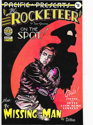 Pacific Presents #2 Rocketeer Bronze Age Pacific Comics Dave Stevens VF/NM