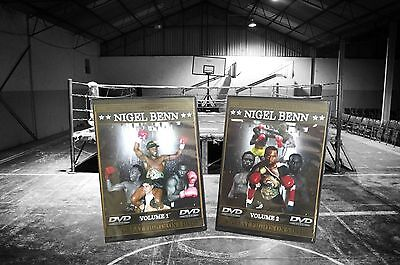 Nigel Benn Boxing DVD Sets Volumes 1 & 2 (LIMITED TIME ONLY)