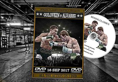Canelo Alvarez v Gennady Golovkin (The Fight) Boxing DVD