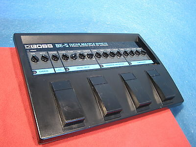 Excellent Boss (Roland) BE-5 Multi Effects Processor made in Japan Used F/S