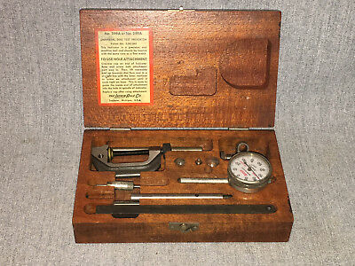 Vintage LUFKIN RULE No. 399A or 299A Universal Dial Test Indicator in Fitted Box