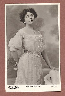 George Liggins  99 Winfield Street Rugby 1907  Lena Ashwell  actress RP   RK447