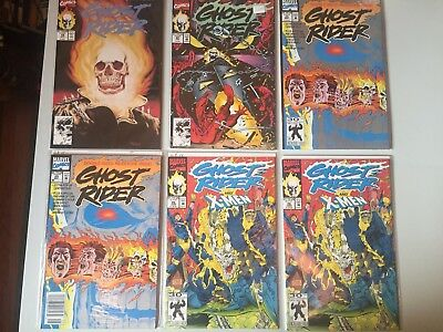 Huge Lot of Marvel GHOST RIDER Comics early 1990's