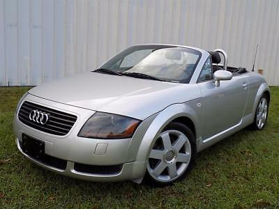 2002 Audi TT 180hp - 70K Miles - Well Maintained & Clean! 2002 Audi TT 180hp - 70K Miles - Well Maintained & Clean! 5 Speed Manual 2-Door