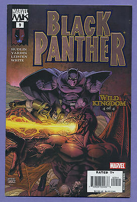 Black Panther #9 2005 X-Men Wild Kingdom Hudlin Yardin Marvel Knights Hp