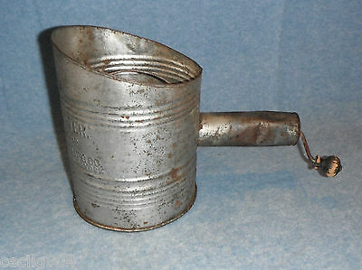 Vintage Hunter's Sifter Screen Sifter Made In The Usa Standard Of The World