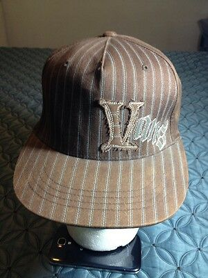 Browm Vans Baseball Cap Hat One Size Fits All : L And XL 98 % Cottom GXN