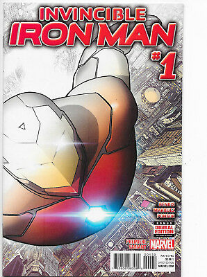 Invincible Iron Man #1 Marvel Comics Premiere Variant NM