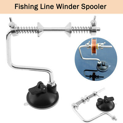 Portable Aluminum alloy Fishing Line Winder Reel Spool Spooler System Tackle