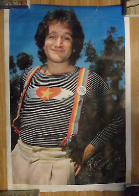 1979 Mork & Mindy Television TV Show Poster ~ ROBIN WILLIAMS
