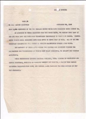 Ww2, Us Japanese Internment Camp, Poston, Resident Numbers Document To Director