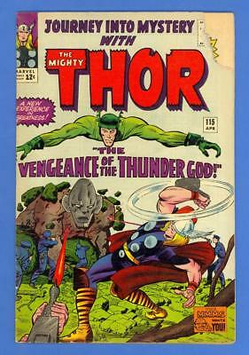 Journey Into Mystery #115 – Marvel Comics (1965) – The Mighty Thor!