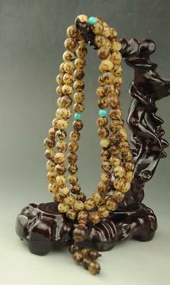 china natural  flower bodhi root bodhi Buddha beads necklace