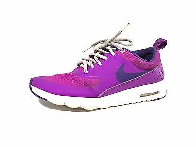 Nike Youth Air Max Thea Running Sneaker Shoes in Purple Size 3.5Y (S404)