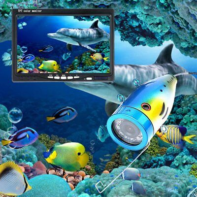 1000TVL Underwater Fishing Camera Kit Lake Under Water Video Fish Finder GS