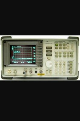 HP 8590A Spectrum Analyzer 10kHz - 1.5 GHz . Comes with user and Service manuals