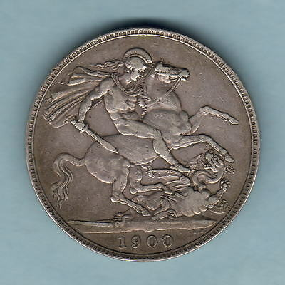 Great Britain.  1900-LXIV  Crown..   aVF