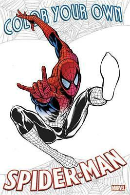 Color Your Own Spider-Man,